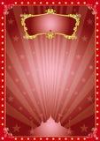 Cirque magique d'étoile Photo stock