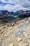 Cirque maximumBanff nationalpark Arkivfoton