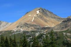 Cirque Peak Above Forest Stock Image