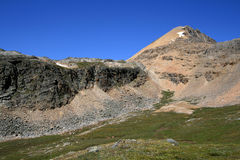 Cirque Peak and Eroding Ridge Royalty Free Stock Photography