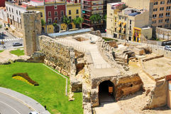 Cirque romain à Tarragona, Espagne Photos libres de droits