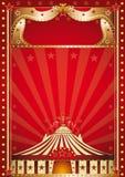 Cirque rouge. Image libre de droits