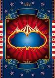 Cirque rouge de roue Images libres de droits