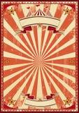 Cirque rouge rétro Photo stock