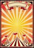 Cirque rouge rétro illustration libre de droits