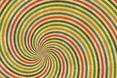 Cirque spiral Arkivbild