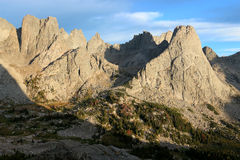 Cirque of the Towers, Wind River Range, Wyoming Stock Images