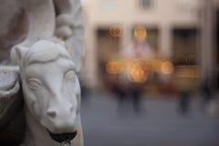 Ciérrese para arriba de la fuente Trieste Imágenes de archivo libres de regalías