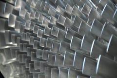 Ciérrese para arriba de las láminas de turbina Imagen de archivo libre de regalías