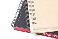 Ciérrese para arriba de Ring Binder Hard Cover Book. Imagen de archivo libre de regalías