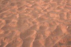 Ciérrese para arriba de textura de la arena Fotografía de archivo libre de regalías