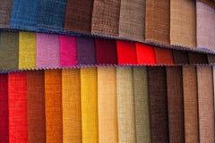 Ciérrese para arriba del cuero coloreado Foto de archivo libre de regalías