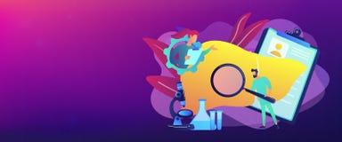 Cirrhosis concept banner header. vector illustration