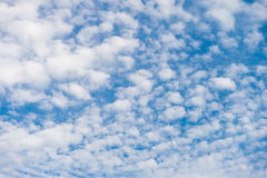 Cirrocumulus chmura Obrazy Royalty Free