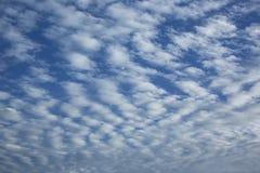 Cirrocumulus chmury obrazy stock