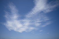 Cirrocumulus cloud. Royalty Free Stock Image