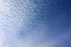Cirrocumulus clouds Stock Images