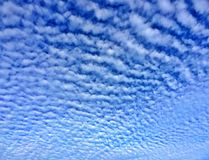 Mackerel sky Royalty Free Stock Photography