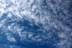 Cirrostratus Clouds Mackerel Sky Royalty Free Stock Image