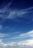 Cirrostratus and Stratocumulus royalty free stock photos