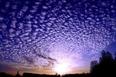 Cirrus σύννεφα Στοκ Φωτογραφίες