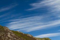 Cirrus cloud Stock Photo