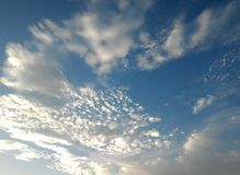 Cirrus clouds Royalty Free Stock Photos