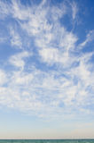 Cirrus clouds Royalty Free Stock Photography