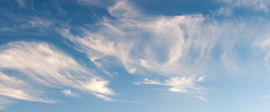 Cirrus Cloudscape Stock Photography