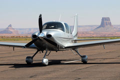 Cirrus - General Aviation Stock Photo