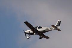 Cirrus SR-22 photos libres de droits