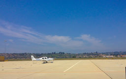 Cirrus SR22 in Camarillo airport, CA Royalty Free Stock Image