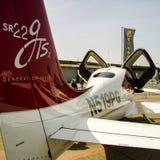 Cirrus SR22 GTSx avec des inscriptions des USA N519PG Photo libre de droits
