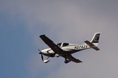 Cirrus SR-22 royalty free stock photos