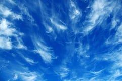 Cirrus-Wolken Lizenzfreie Stockfotos