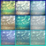 Cirrus-Wolken reichlich 2 Stockfotografie