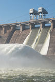 Central hidroeléctrica Fotos de archivo libres de regalías