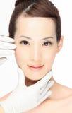 Cirugía cosmética Fotos de archivo libres de regalías