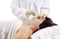 Cirugía cosmética fotos de archivo