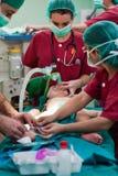 Cirugía del bebé Imagen de archivo libre de regalías