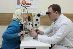Cirugía del laser Foto de archivo libre de regalías