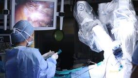 Cirugía robótica Robusteza médica metrajes