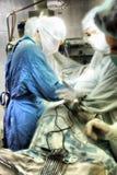 Cirugía torácica imagen de archivo libre de regalías