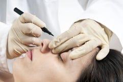 Cirugía cosmética Imágenes de archivo libres de regalías
