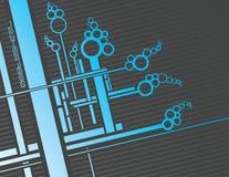 Ciruits bleus Images libres de droits