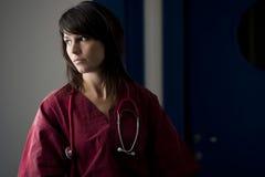 Cirujano de sexo femenino Fotografía de archivo libre de regalías