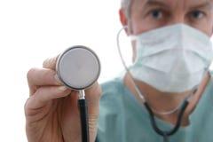 Cirujano de sexo masculino Imágenes de archivo libres de regalías