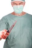 Cirujano del asesino Fotos de archivo