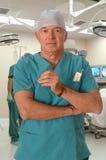 Cirujano en O imágenes de archivo libres de regalías