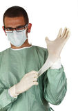 Cirujano joven Imagen de archivo libre de regalías